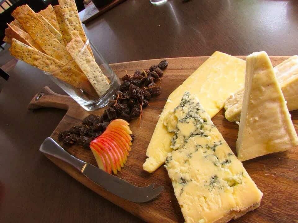 Victory three cheese platter