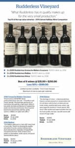 Rudderless 2016 Box of 6 wines