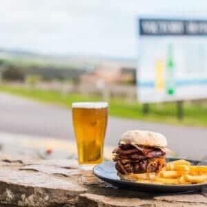 victory hotel beer n burger