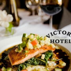 victory hotel salmon dining